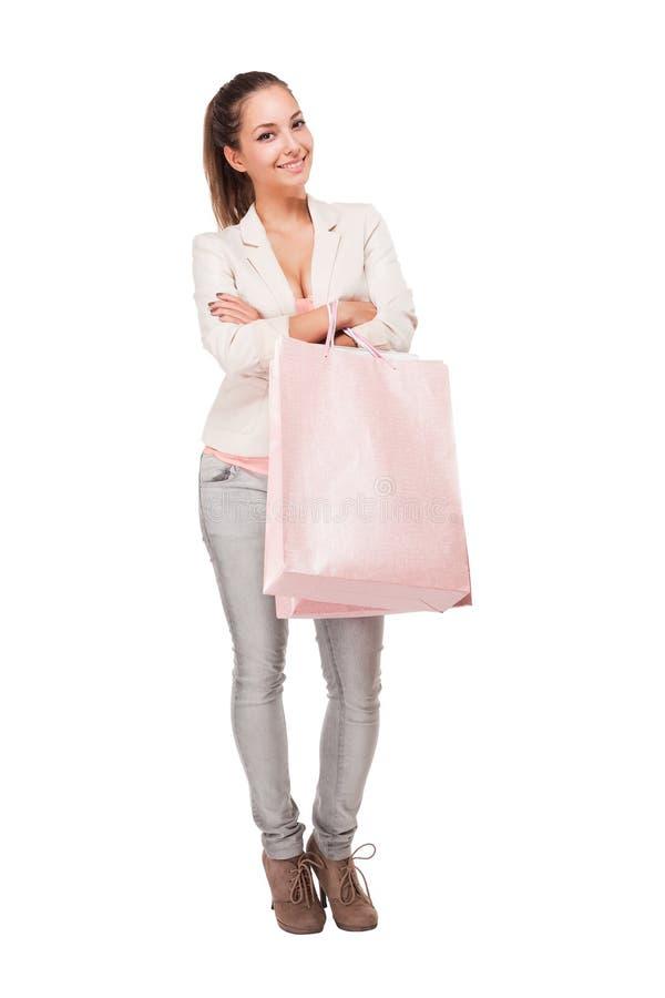 Download Pink Shopping. Stock Photos - Image: 33653413