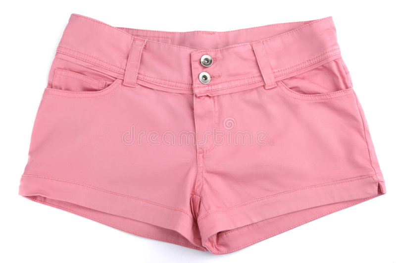Download Pink Shorts stock photo. Image of colorful, female, womens - 8893030