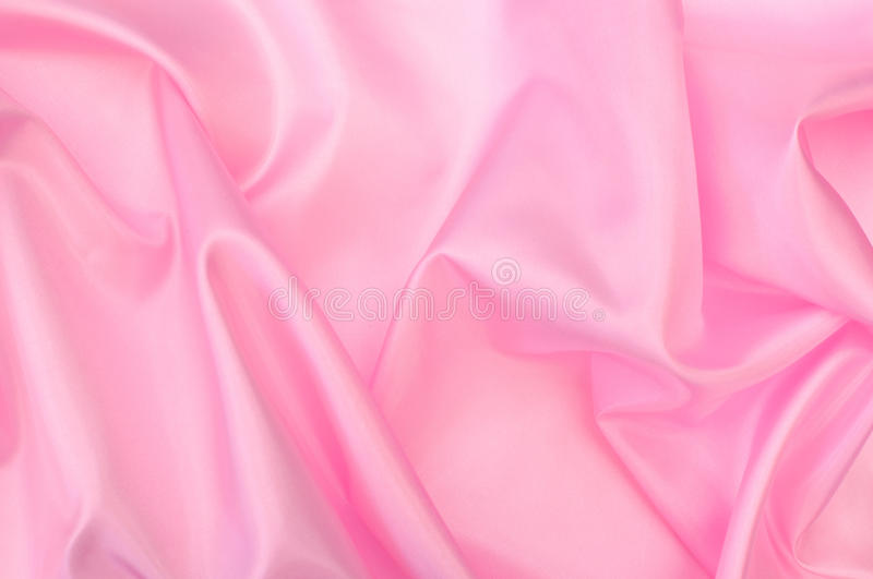 Download Pink silk stock photo. Image of soft, background, bedding - 28912344