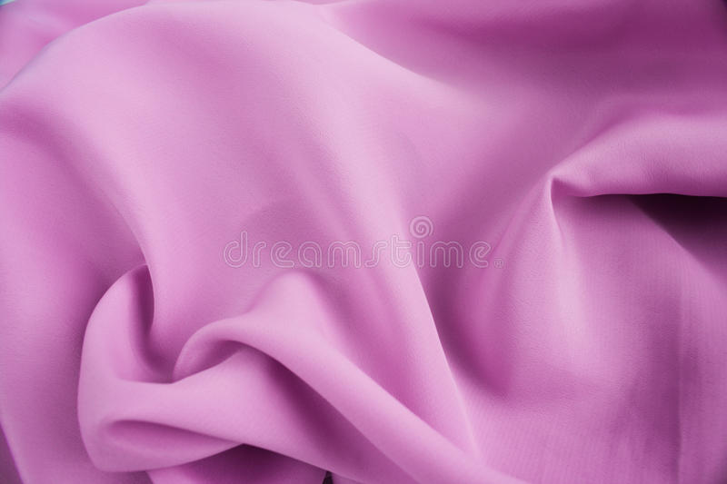 Pink silk satin. For background royalty free stock image