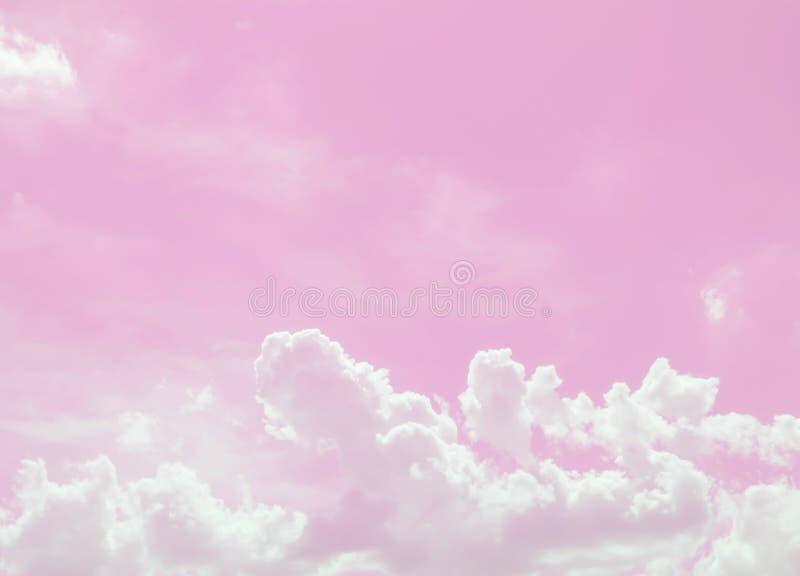 Pink sky and beautiful stock photo