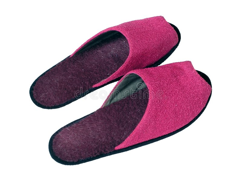 Download Pink slippers stock photo. Image of casual, accessories - 661682