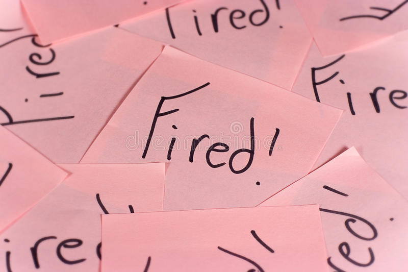 Download Pink Slips stock photo. Image of fired, pink, jobs, action - 13540462