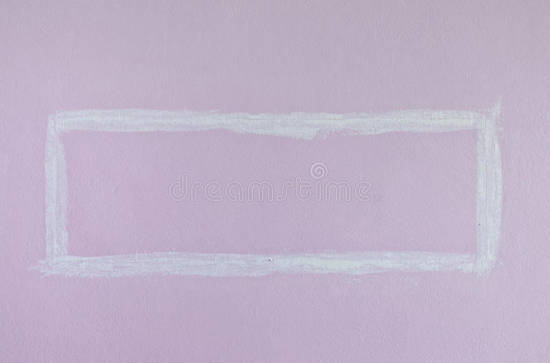 Pink Square Paint Wall stock photos