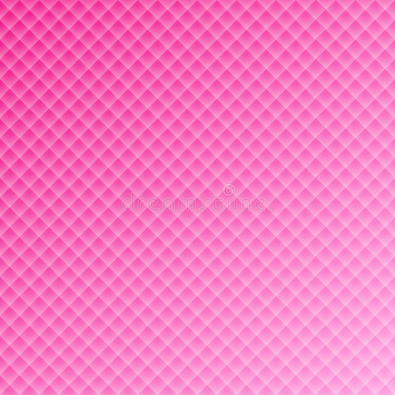Pink square rectangular background pattern for wedding design stock illustration