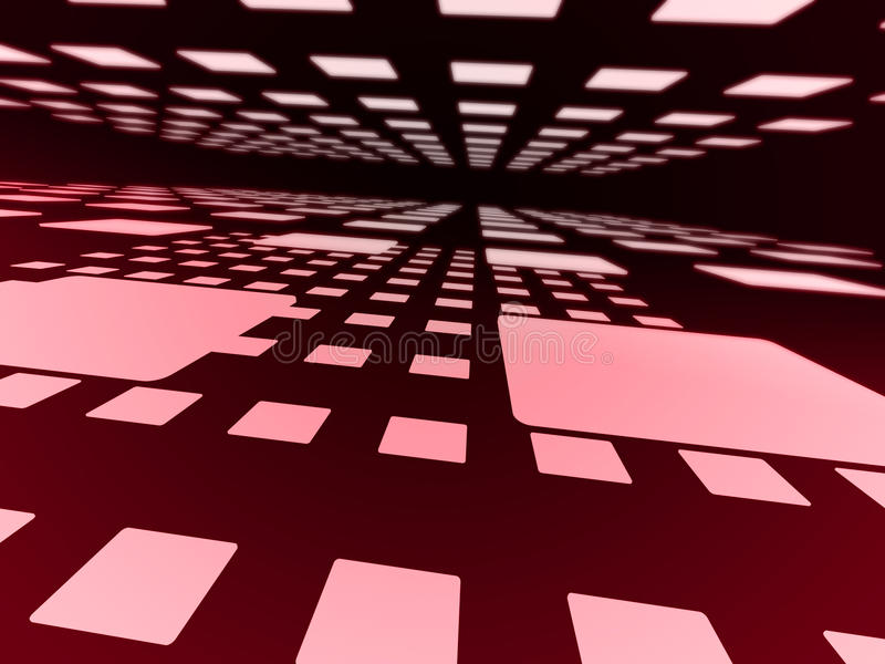 Download Pink squares. stock illustration. Image of abstract, graphic - 11378801