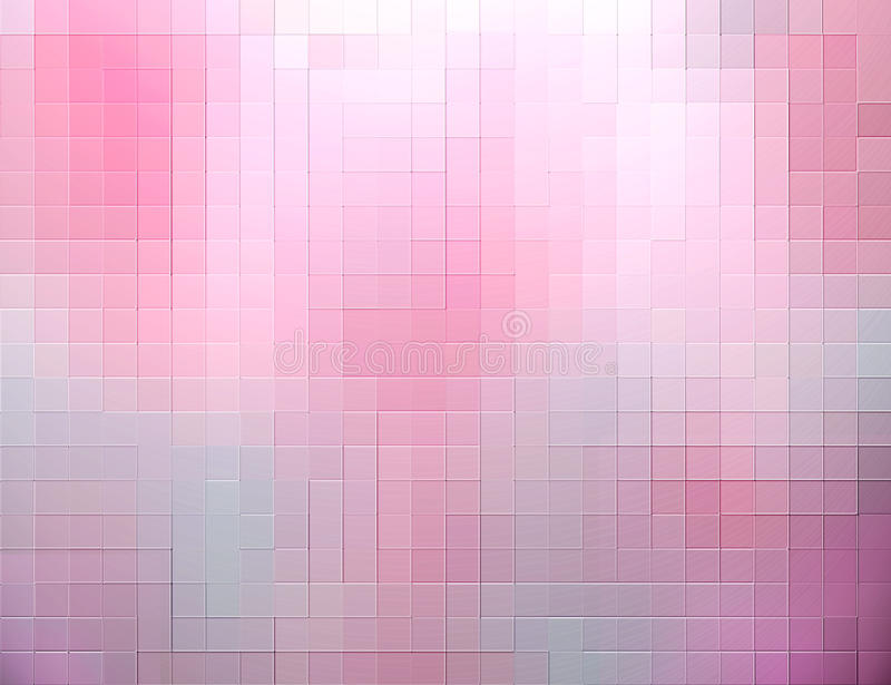 Pink squares abstract background vector illustration