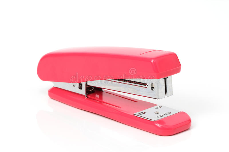 Download Pink staple stock image. Image of close, business, stapler - 26060481