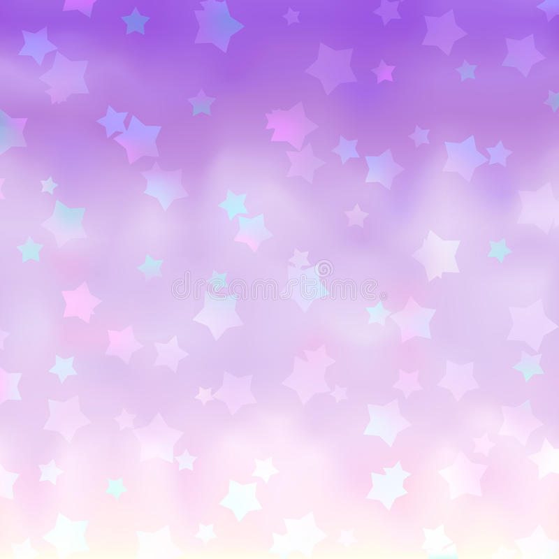 Free Pink Stars Background Royalty Free Stock Photography - 9891377