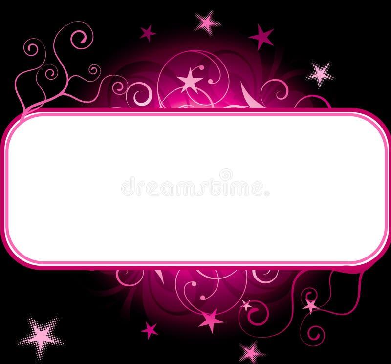 Free Pink Stars Copyspace Background Stock Image - 16293311