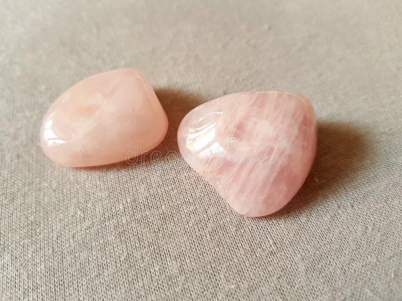 Pink stone royalty free stock photos