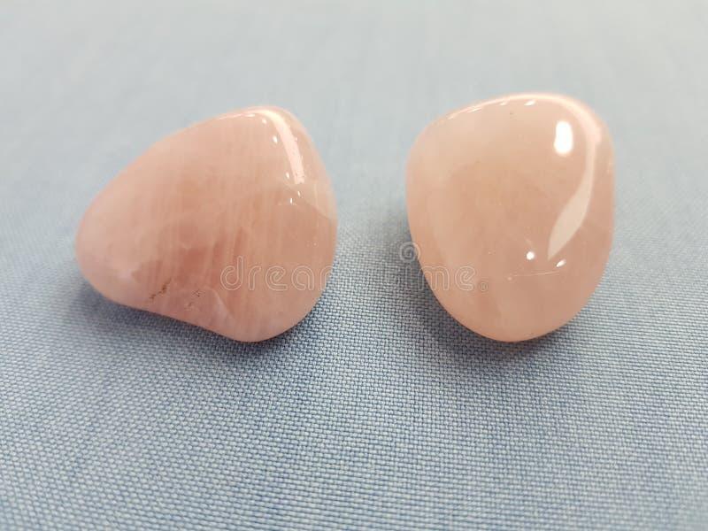 Pink stone stock photos