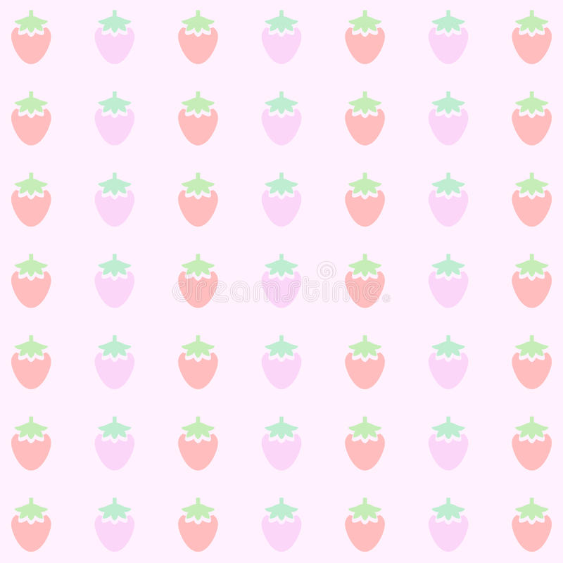 pink strawberry background pattern vector eps10 great for