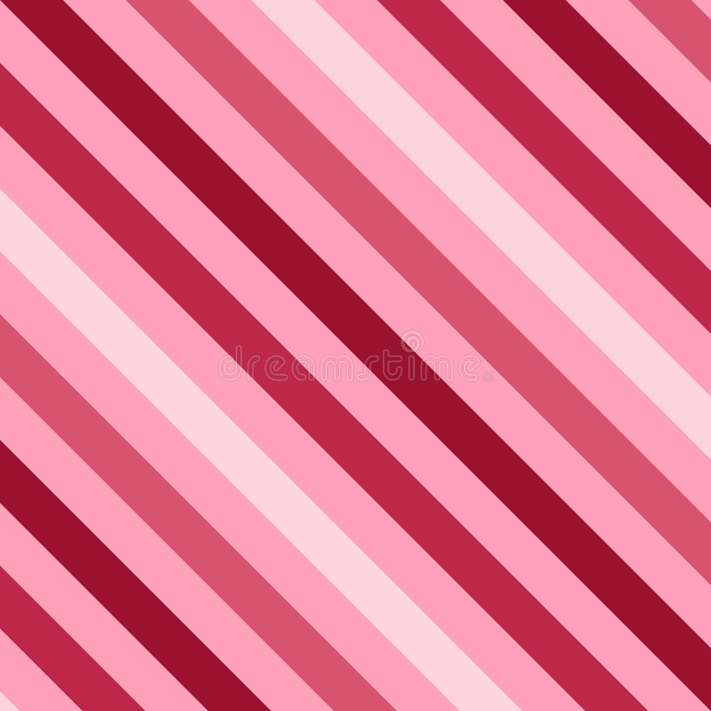Download Pink Stripes stock vector. Image of happy, diagonal, cheerful - 7623806