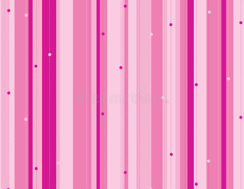Pink stripped background vector illustration