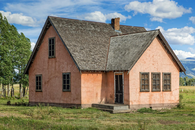 Favorite Pink Stucco House stock photo. Image of yard, grand, park - 61486592 WS31