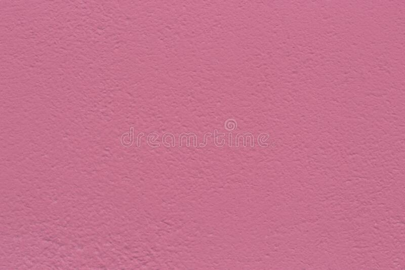 Pink Stucco Wall Texture. royalty free stock photo