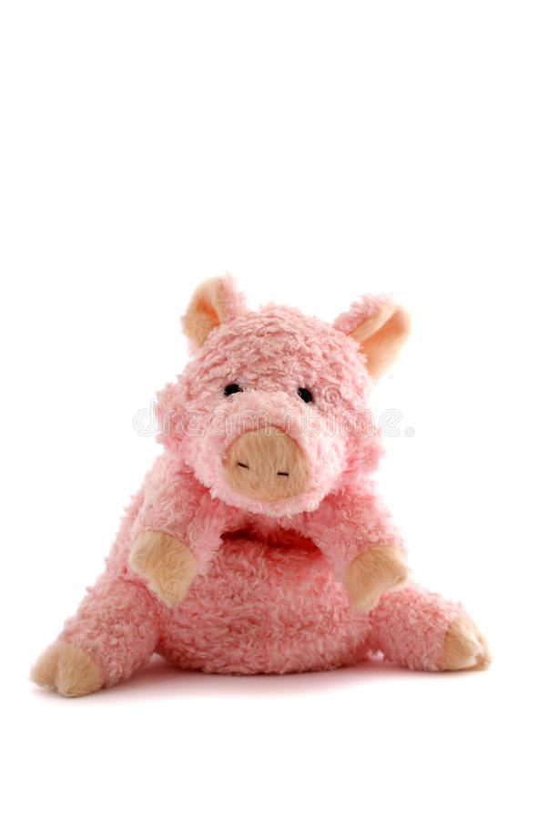 Free Pink Stuffed Piglet Royalty Free Stock Photos - 10960888