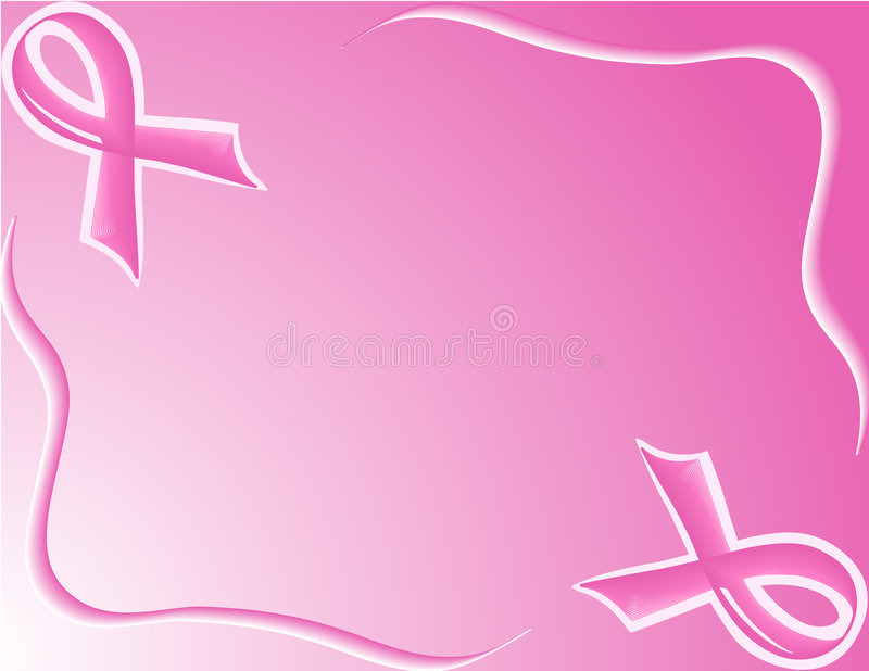 Pink Support Ribbon background royalty free stock photo