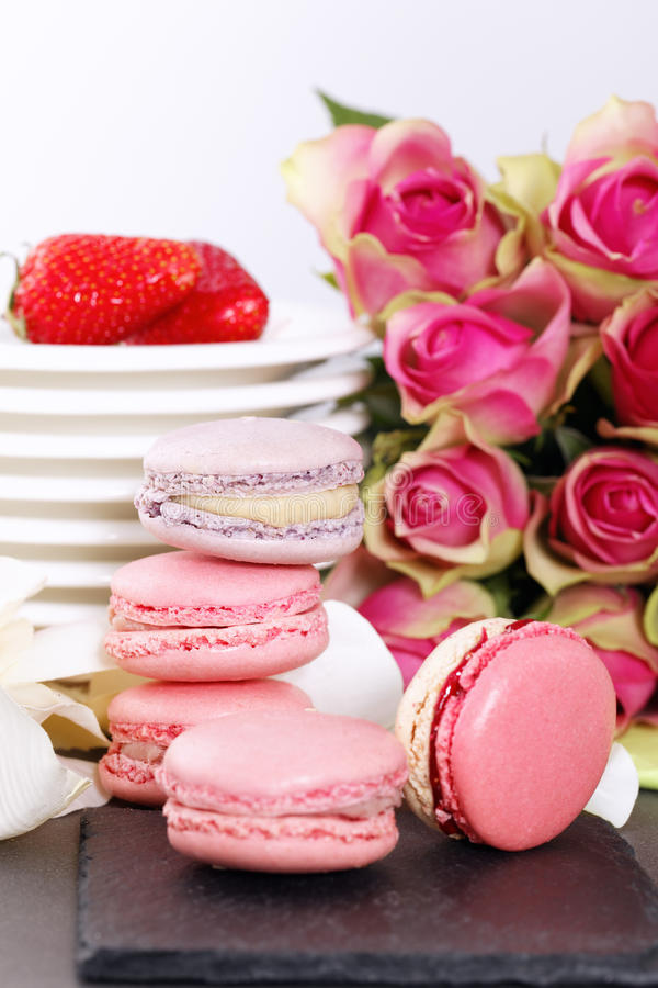 Download Pink sweet stock image. Image of pink, cuisine, group - 25208891