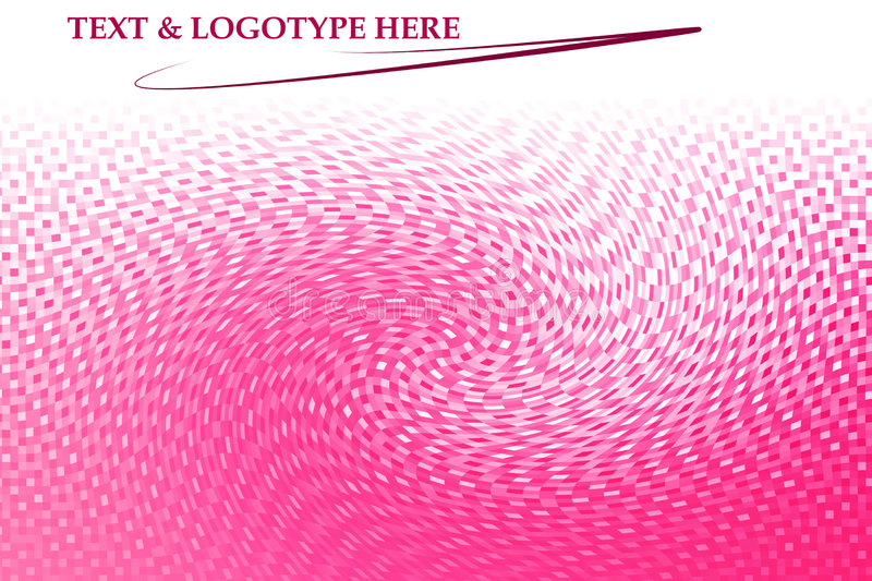 Download Pink swirl background stock illustration. Illustration of computer - 5165844