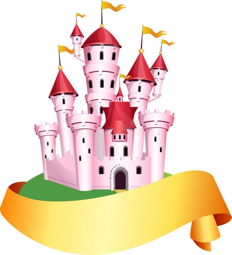 pink tale castle stock vector illustration of homes 65663724 rh dreamstime com