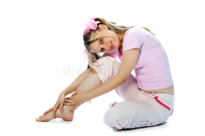 Pink teenager