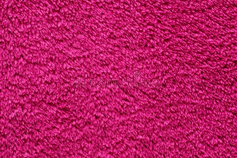 Pink terry textile royalty free stock photos