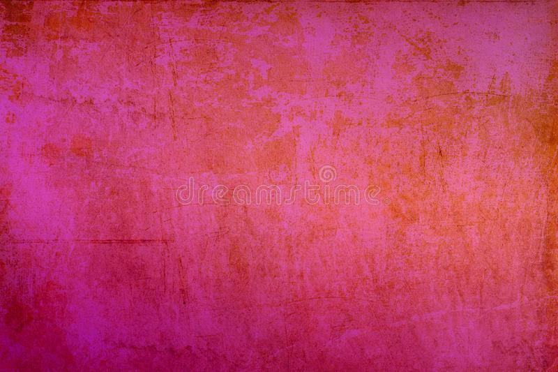 Pink texture with transition and gradient beautiful background for love textured background. Bright pink background with gradient transitions of grunge old royalty free stock photos