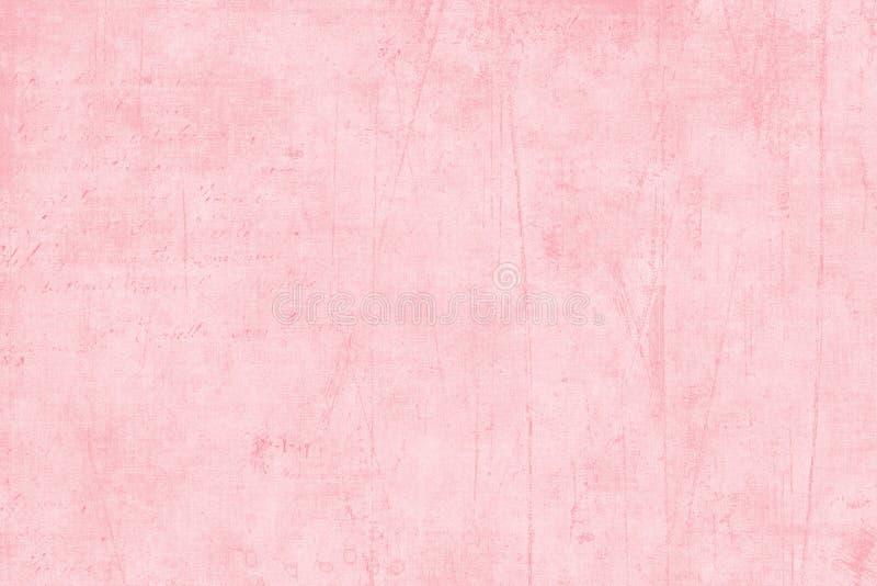 Pink Textured Scrapbook Paper stock images