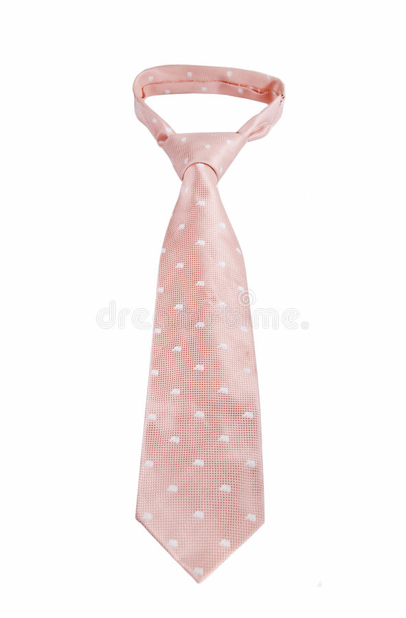 Pink Tie royalty free stock image