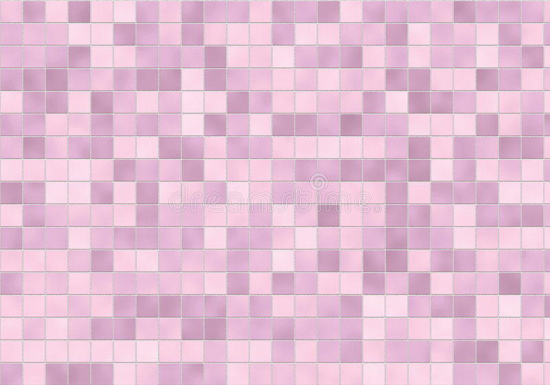 Pink Tile Surface royalty free stock images