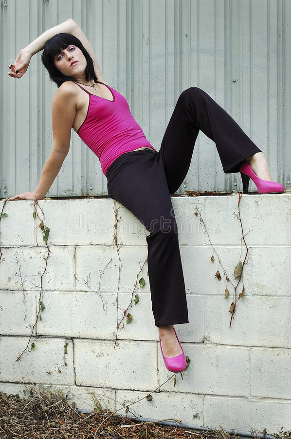 Pink Top Royalty Free Stock Photography