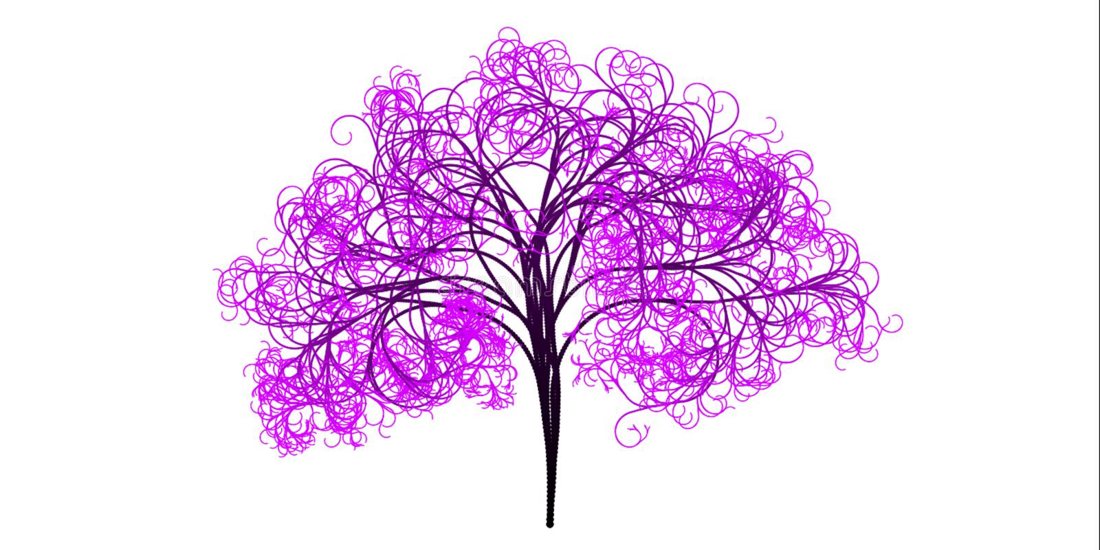 Pink, Tree, Leaf, Purple royalty free stock photography