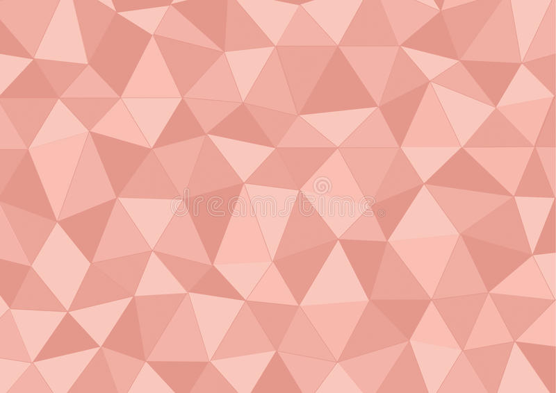 Pink triangle stock image