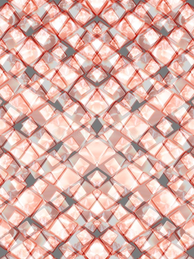 Pink triangles stock photography