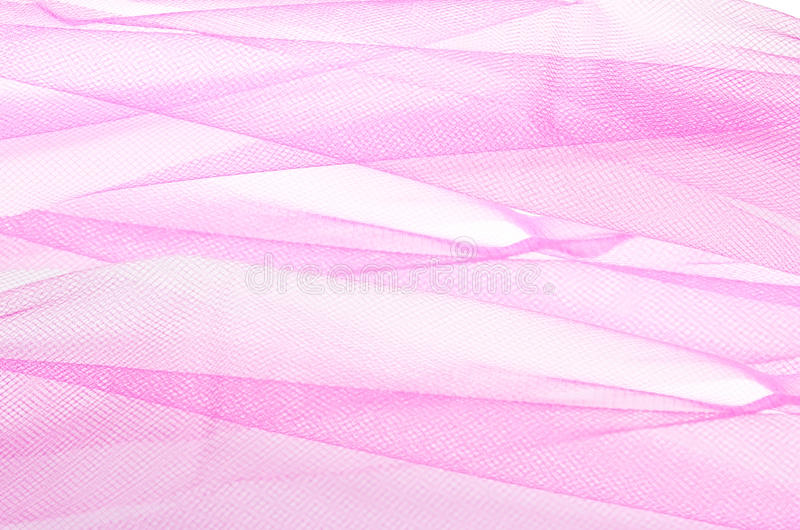 Pink tulle stock image
