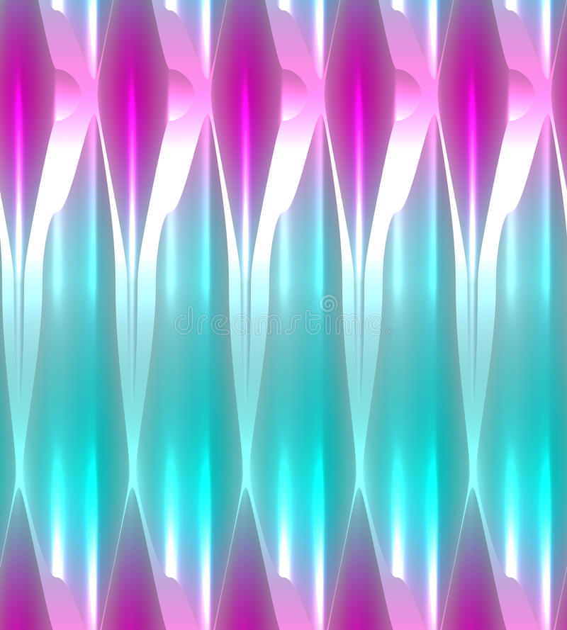 Pink and turquoise abstract background with glowing light effect. royalty free illustration