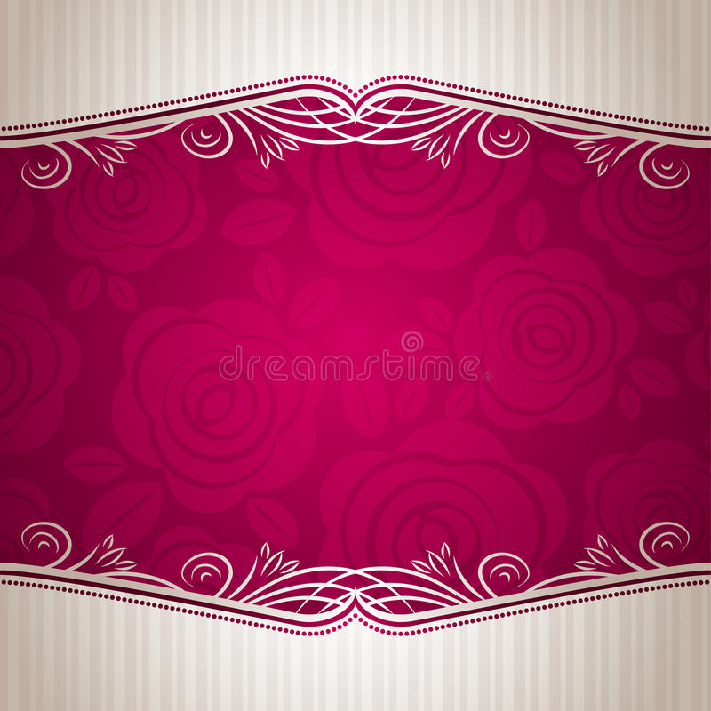Free Pink Valentine Background, Royalty Free Stock Photos - 17820568