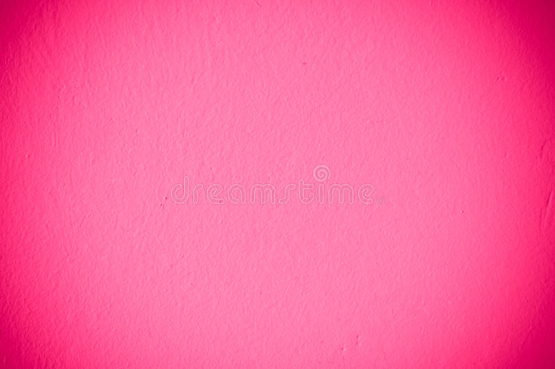 Pink Wall Stock Photo