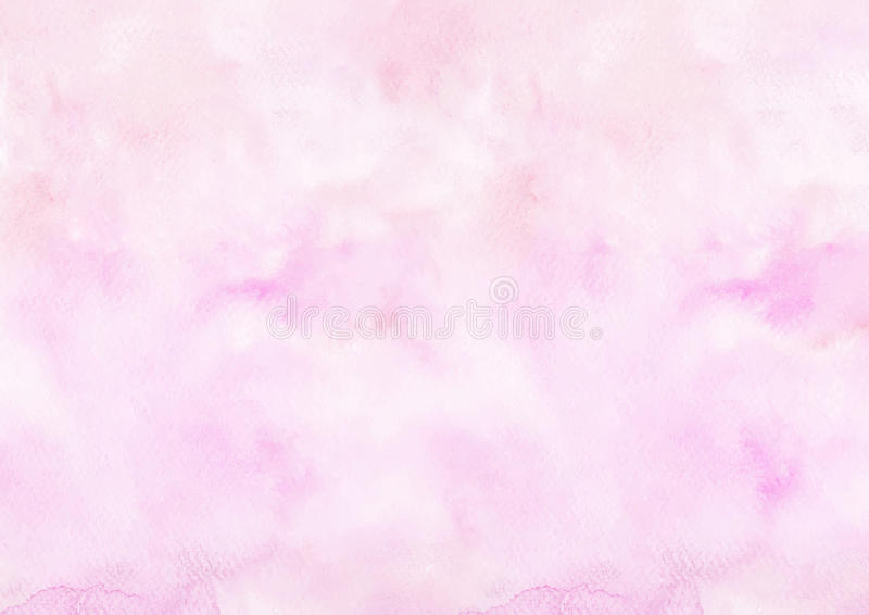 Pink watercolor drawing paper background royalty free stock photos