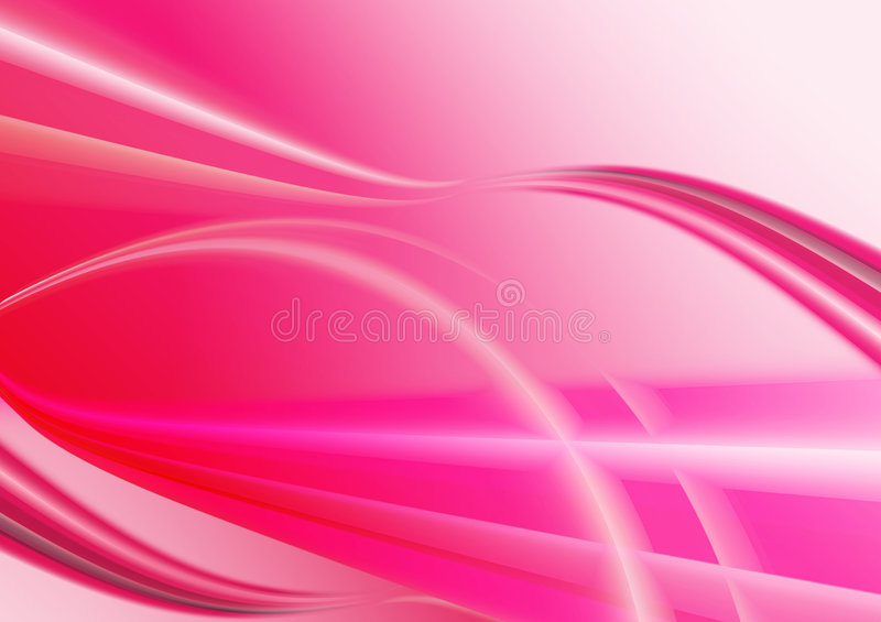 Pink waves background royalty free stock images