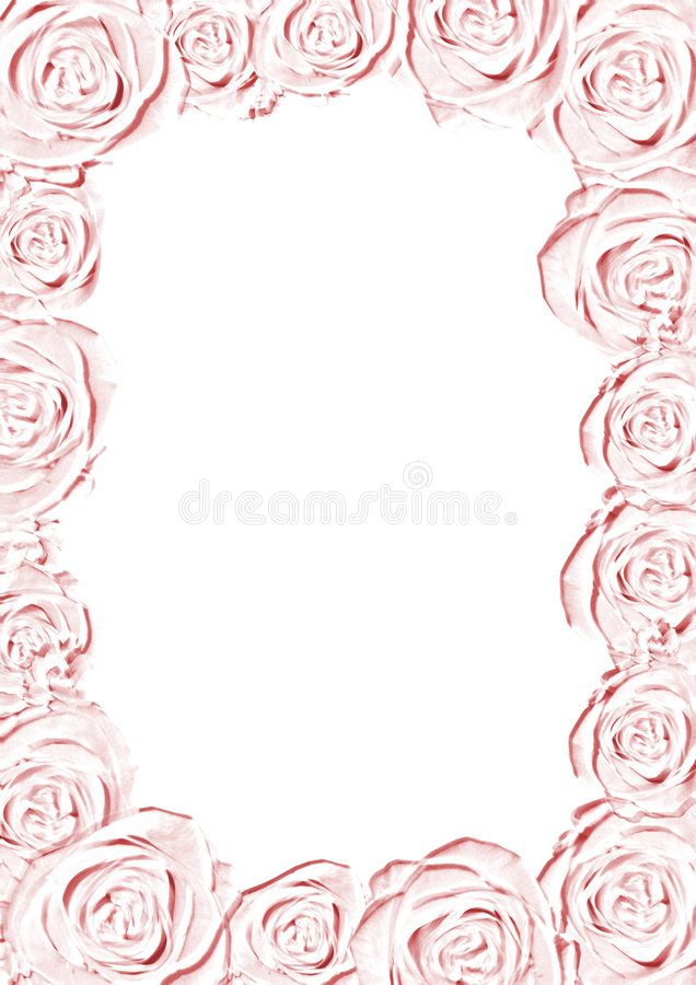 Download Pink wedding frame stock photo. Image of marriage, background - 8925472