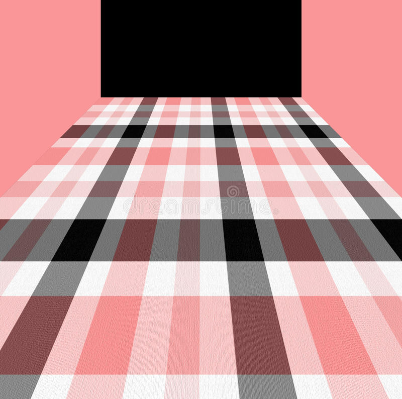 Download Pink, White And Black Checkered Pattern Royalty Free Stock Photos - Image: 15285188