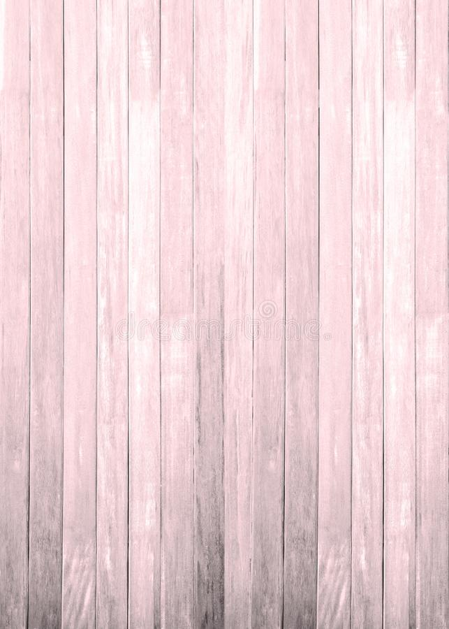 Pink white wood floor texture background. plank pattern surface pastel painted wall; gray board grain tabletop above oak timber; stock photography