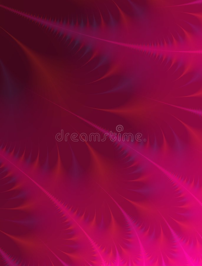 Pink Wisps Feathers Texture royalty free illustration