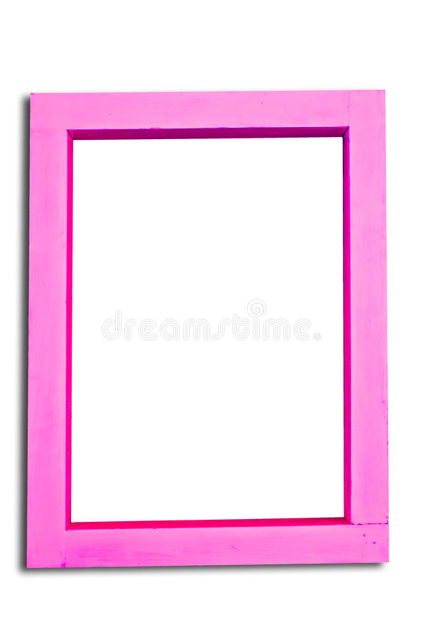 Download Pink wooden frame stock image. Image of aquatic, cockle - 23854111