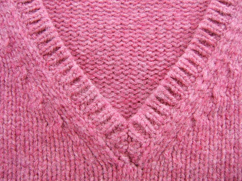 Pink wool royalty free stock photography