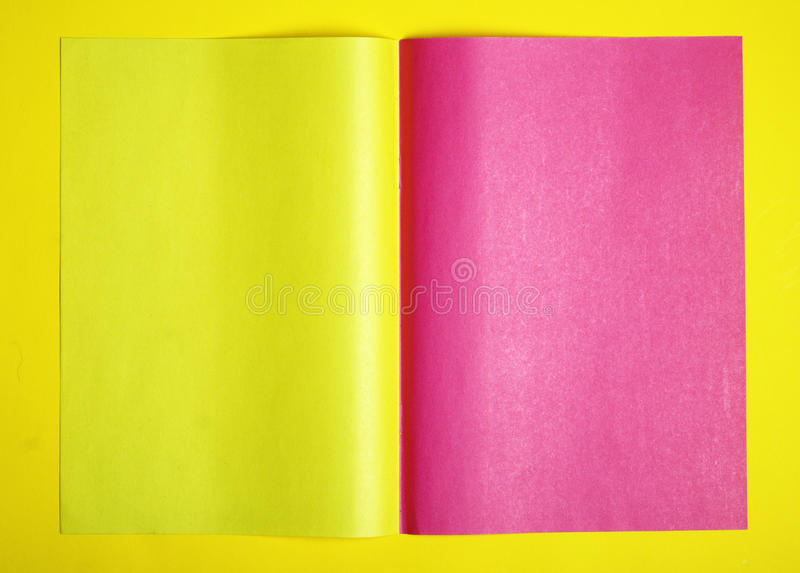 purple and yellow page royalty free stock photo