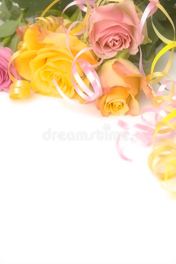 Download Pink And Yellow Roses Royalty Free Stock Image - Image: 8691046